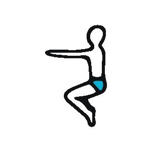 Bikram Yoga Manchester - Awkward Pose